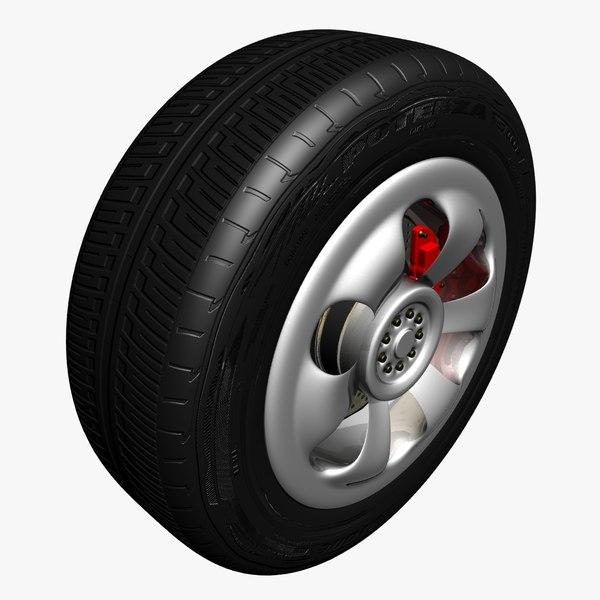 max bridgestone tire materials