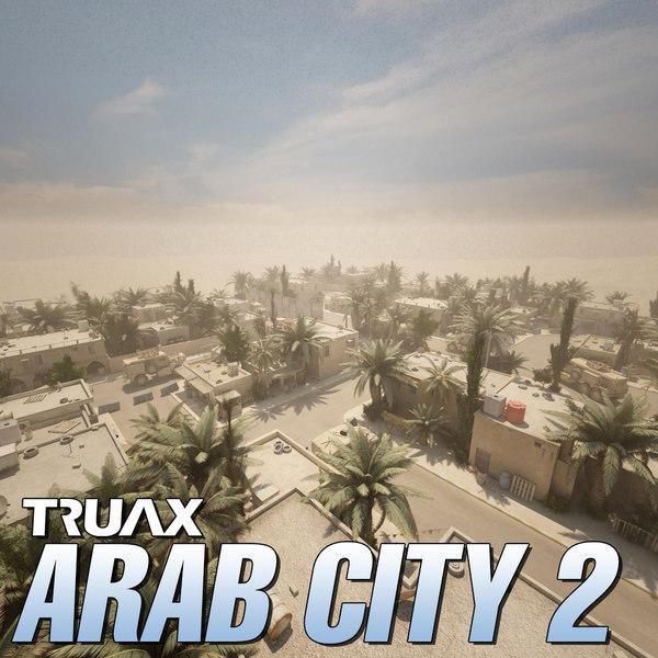 3ds max studio arab city 2