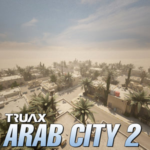 3ds max studio arab city 2