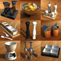 3ds max set cooking kitchen