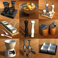 3ds max set cooking kitchen