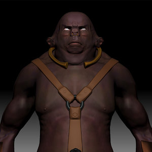 orc monster 3d 3ds