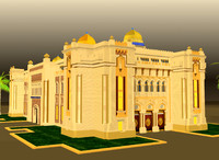 arch buiding islamic