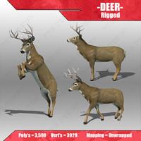 deer 3d 3ds