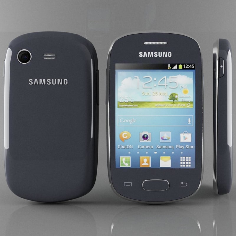samsung galaxy star s5280 3d model