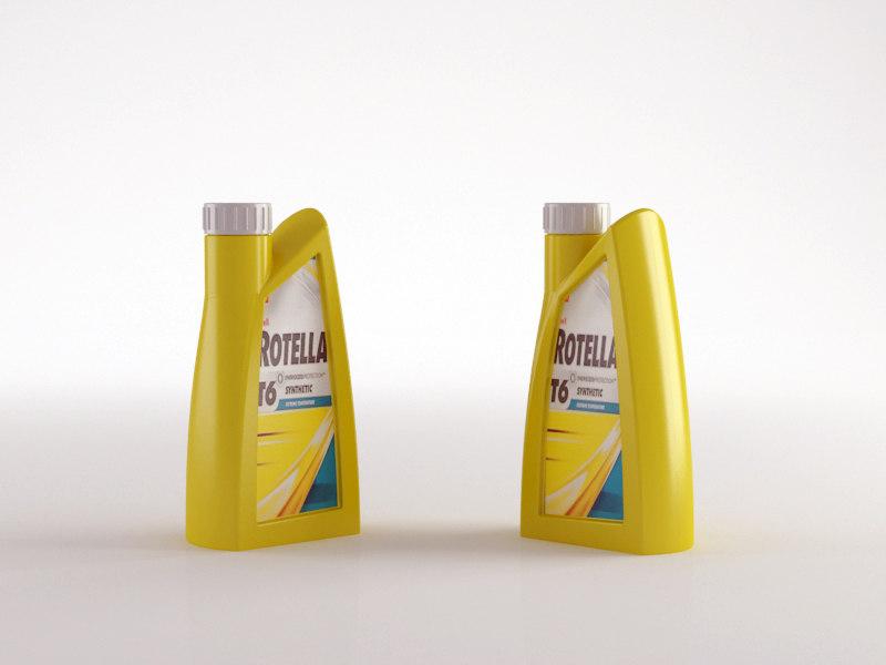 3d 3ds 1 liter oil bottle
