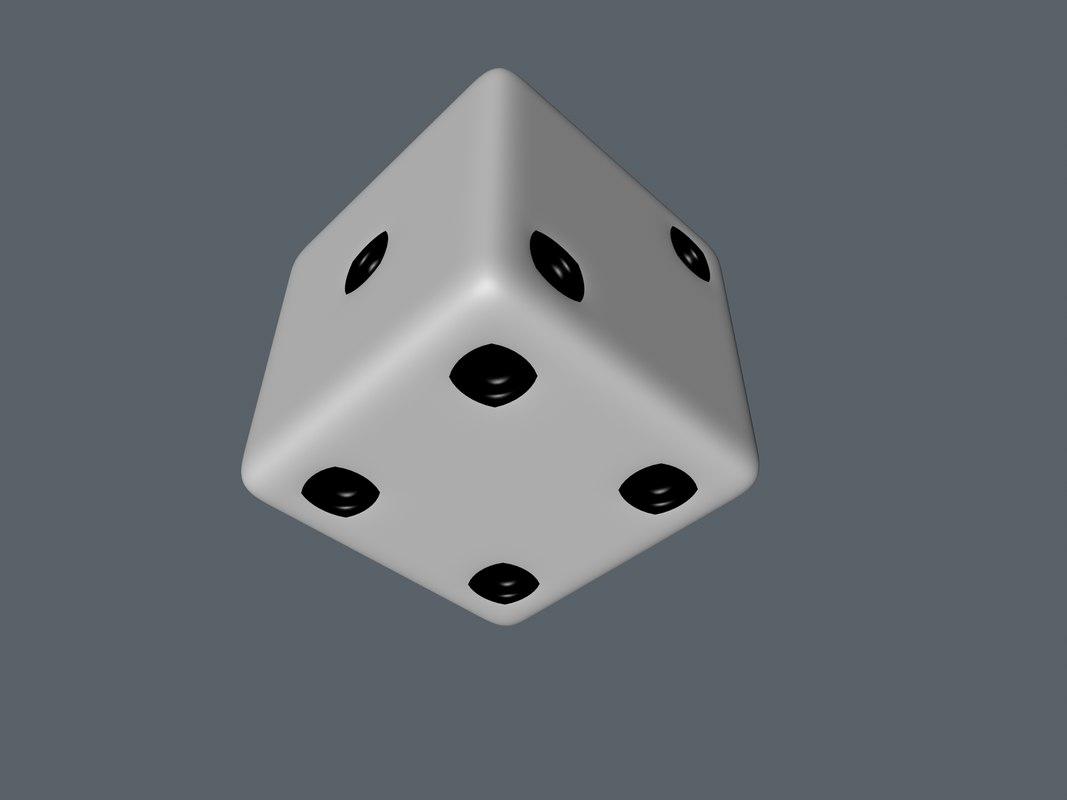 free obj model dice