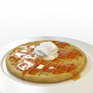 3ds max waffle set 03