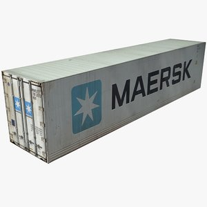 max maersk shipping cargo container