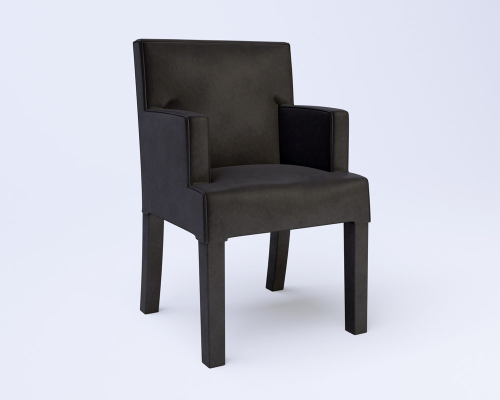 obj chair velvet