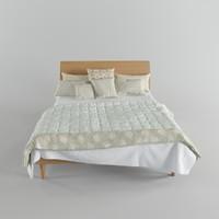 3dsmax harlequin bed