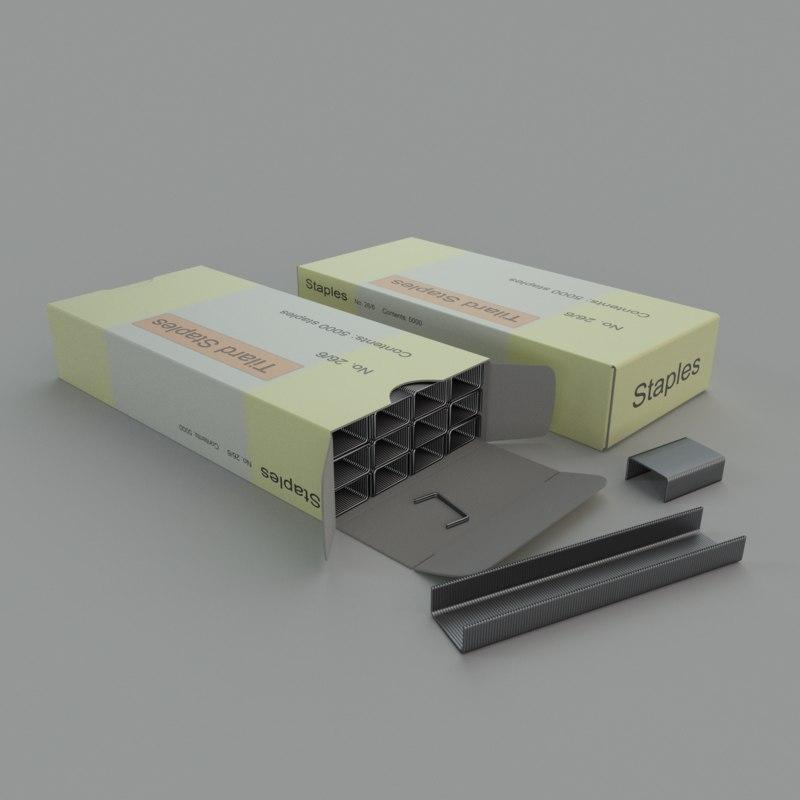 box staples obj