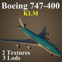 boeing 747-400 klm max