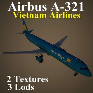 3d model airbus hvn