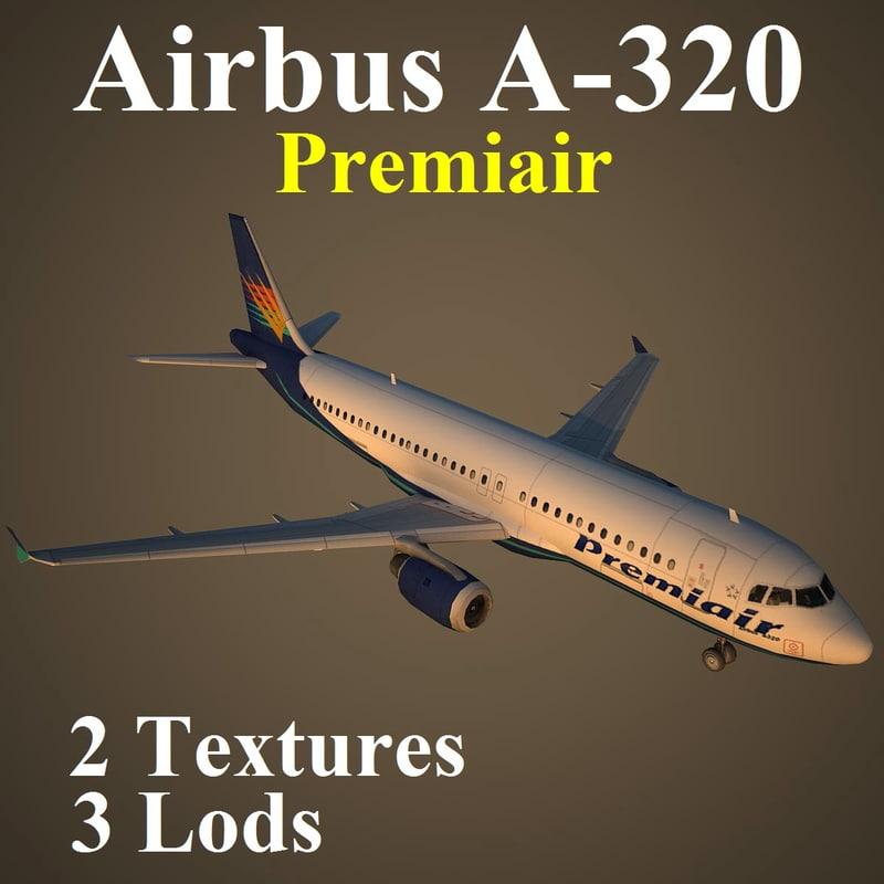 airbus vkg 3d max