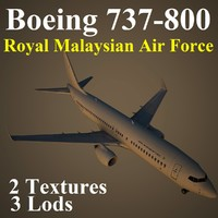 3d boeing 737-800 rmf