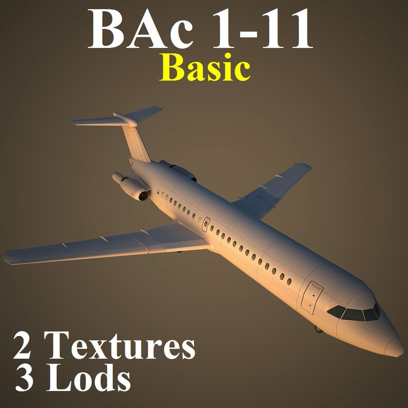3d model british aerospace basic