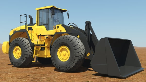 end wheel loader max