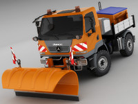 Mercedes Unimog U20 Snow Removal