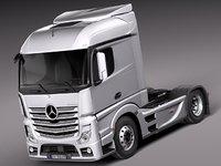 aero 2014 mercedes truck 3d 3ds