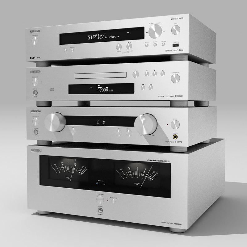 3d stereo onkyo model