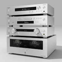 Onkyo Stereo System Silver