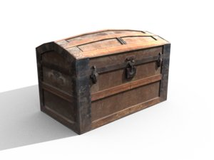 wooden crate 3ds