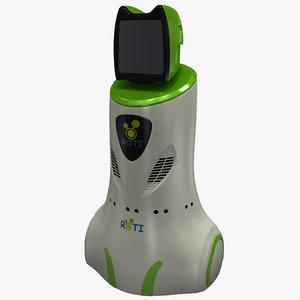 3d robot teacher model