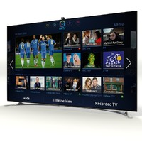 samsung smart tv f8000 3d model