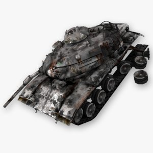 3d model real time m60