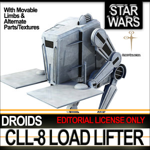 star cll-8 load lifter 3d 3ds