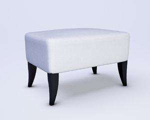 3d wychwood design stool