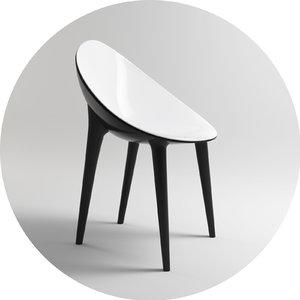 3d kartell armchair