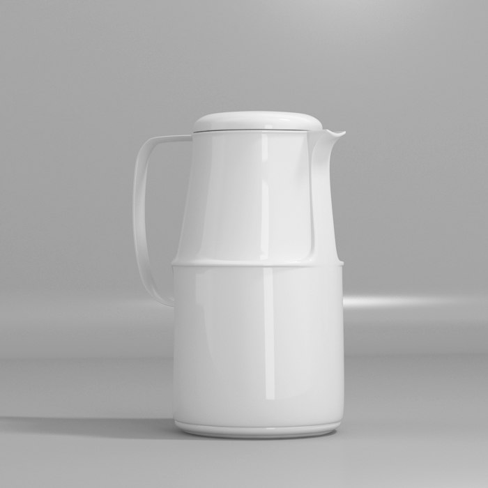 3ds max thermos flask