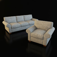 Classic Armchair and Sofa