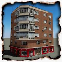 3d building 75