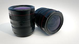 camera 3d obj