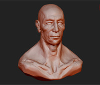 3d model zbrush sculpt