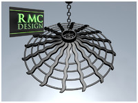 3d chandelier 26 rmc model