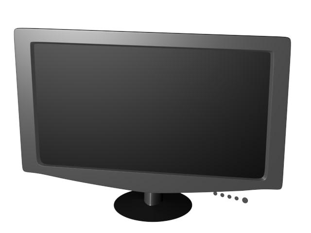 monitor 3d max