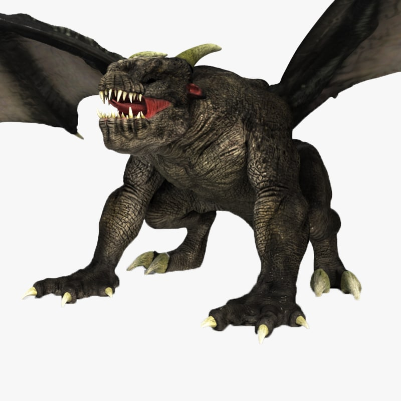 3d monster model for Monster 3d model