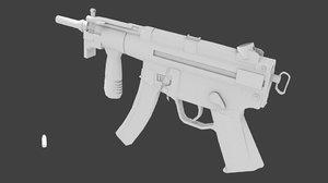 3d model mp5k