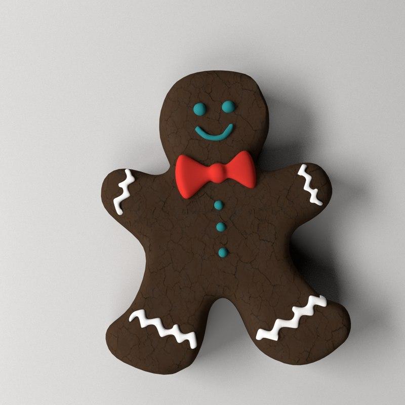 gingerbread man 3d 3ds