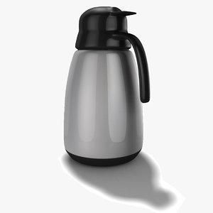 coffee pot obj