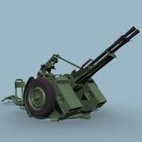 3d zpu-2 soviet double