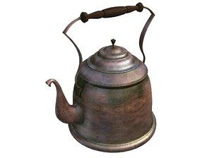 antique teapot 3ds
