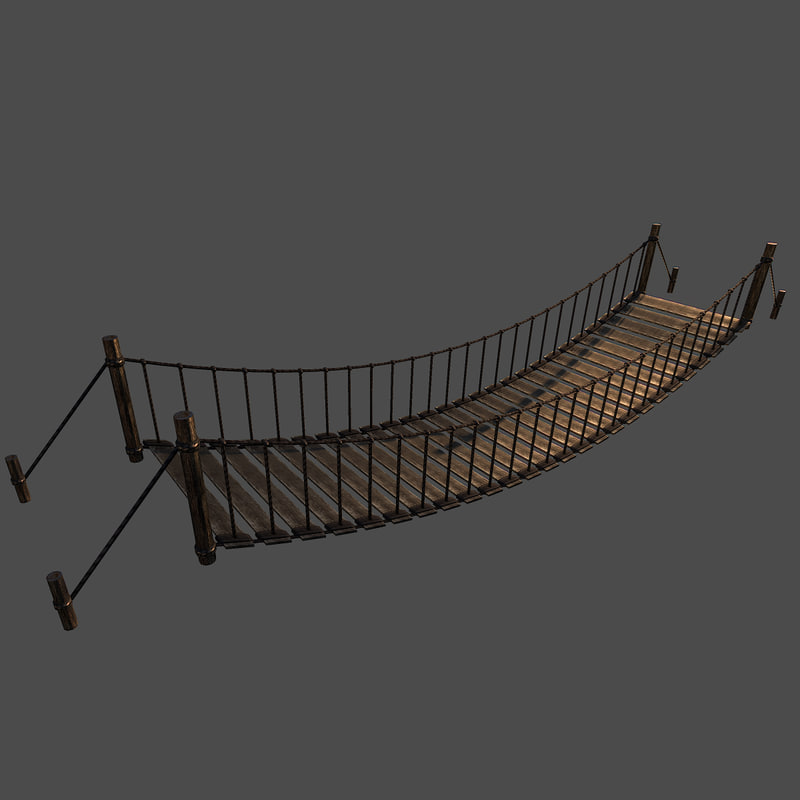 3d realistic bridge