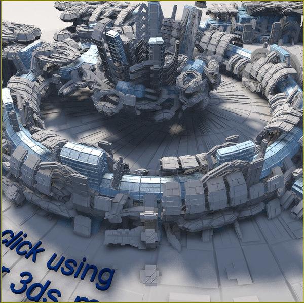 scifi structure max free