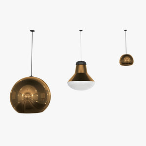 tom dixon light 3d max