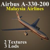 3d model airbus mas